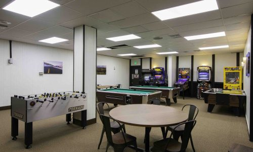 sports room at rockymountain hotel